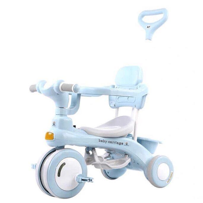 Xe đạp cho bé 2-3 tuổi 618 có cần đẩy, phát nhạc