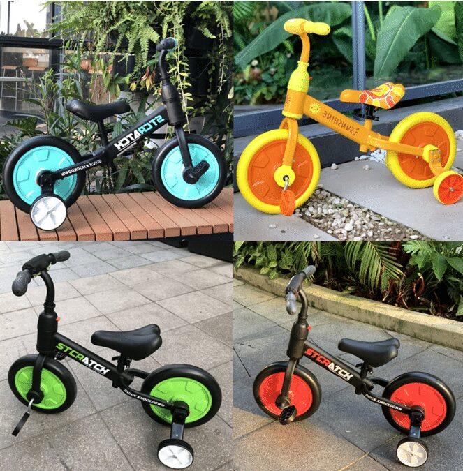 Xe đạp cho bé 3, 4, 5 tuổi Mamma Mia rất được yêu thích sử dụng
