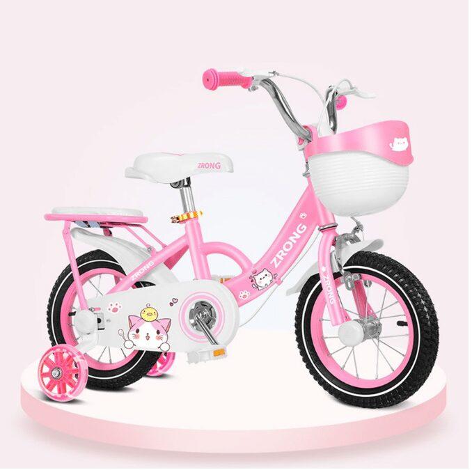 Xe đạp cho bé gái 2, 3, 4, 5 tuổi chính hãng Zrong
