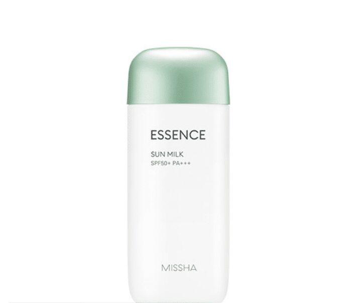 Kem chống nắng cho da hỗn hợp All-Around Safe Block Essence Sun Milk Missha
