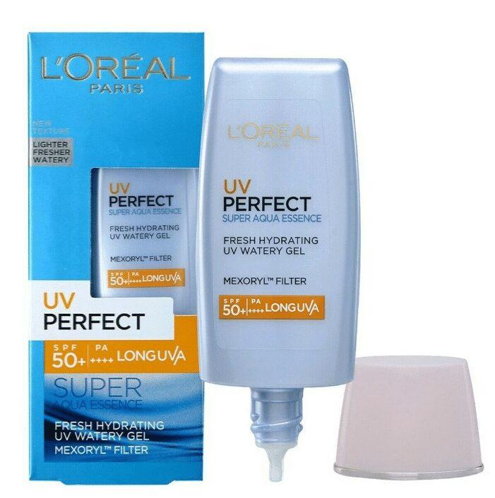Kem Chống Nắng L'Oreal Paris UV Perfect Aqua Essence SPF50+ PA++++