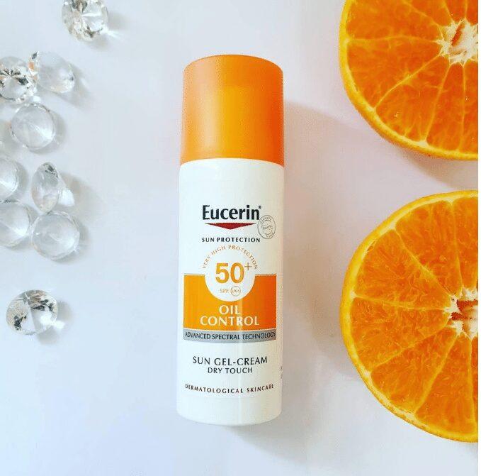 Kem chống nắng kiểm soát dầu Eucerin Sun Gel-Creme Oil Control Dry Touch SPF 50+