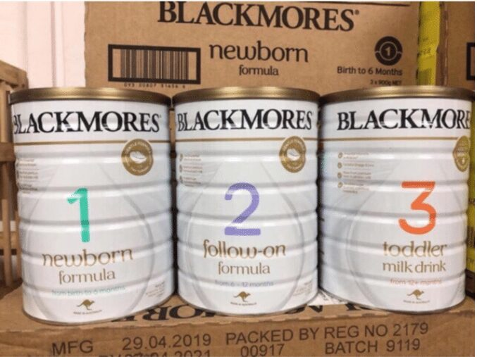 Sữa Blackmore Úc
