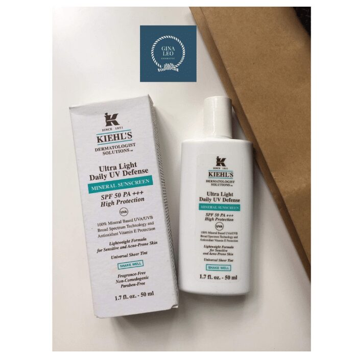 Kiehl's Ultra Light Daily UV Defense Mineral Sunscreen SPF 50 PA