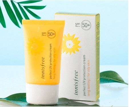 kem chống nắng Innisfree Perfect Uv Protection Cream Long Lasting For Oily Skin SPF 50 cho da dầu