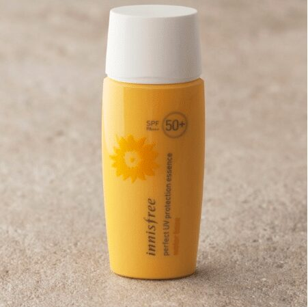 Kem chống nắng Innisfree cho da khô Innsfree Perfect UV Protection Essence Water Base SPF 50 PA+++