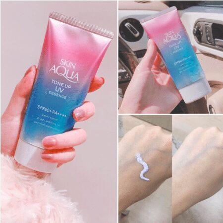Kem Chống Nắng Nâng Tone Da Sunplay Skin Aqua Tone Up UV Essence SPF50+ PA++++