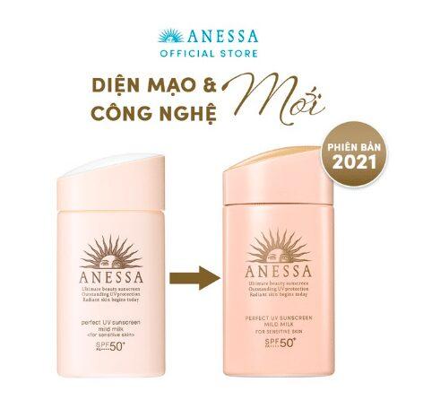 Kem chống nắng Anessa Perfect UV Sunscreen Mild Milk