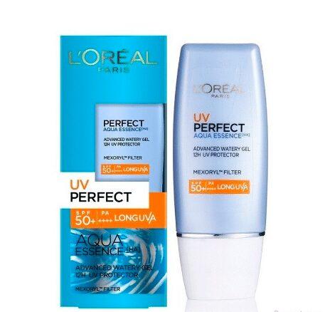 Kem Chống Nắng LOreal Paris UV Perfect Aqua Essence SPF50+ PA++++