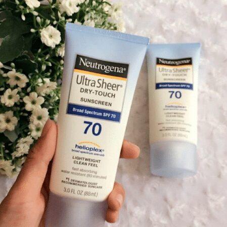 Kem Chống Nắng Neutrogena Ultra Sheer Dry-Touch Sunscreen SPF70