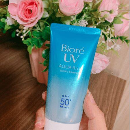 Kem chống nắng Bioré UV Aqua Rich Watery Essence nội địa Nhật