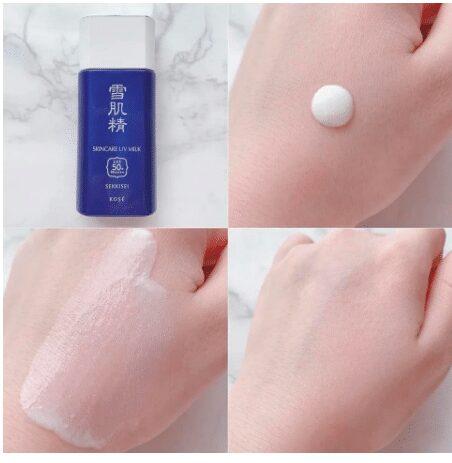 Kem chống nắng KOSE Sekkisei Skincare UV Milk