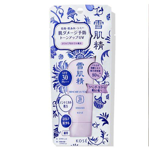 Kem chống nắng Kose Sekkisei Skincare UV Tone Up