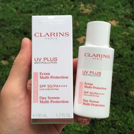 Review Kem chống nắng Clarins Anti Pollution Uv Plus Translucent SPF 50
