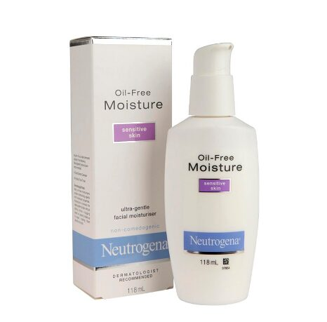 Kem dưỡng ẩm Neutrogena Oil-Free Moisture Sensitive Skin dành cho da nhạy cảm