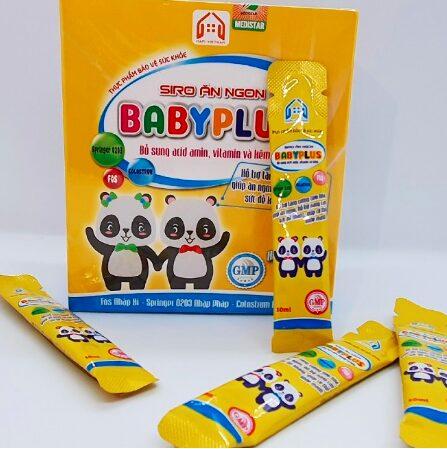 Siro baby plus giúp trẻ ăn ngon miệng hơn