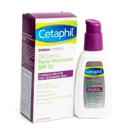 Kem Dưỡng Ẩm Chống Nắng Cetaphil DermaControl Oil Control Facial Moisturizer SPF 30