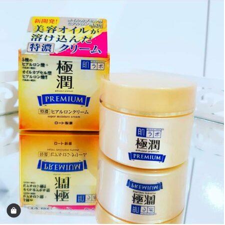 Kem dưỡng ẩm Hada Labo Gokujyun Premium Super Hyaluronic Cream