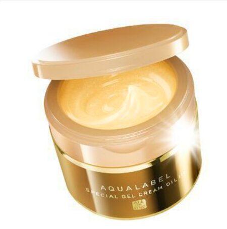 Kem dưỡng ẩm cho da khô Shiseido Aqualabel Special Gel Cream Cream oil in
