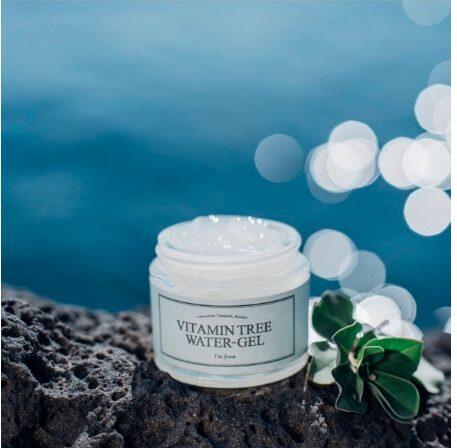 review kem vitamin tree water gel