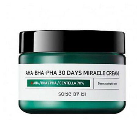 Kem dưỡng ẩm trị mụn Some By Mi AHA-BHA-PHA 30 Days Miracle Cream