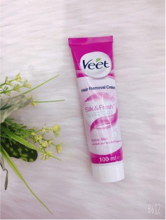 Kem tẩy lông Veet Silk & Fresh Normal Huid