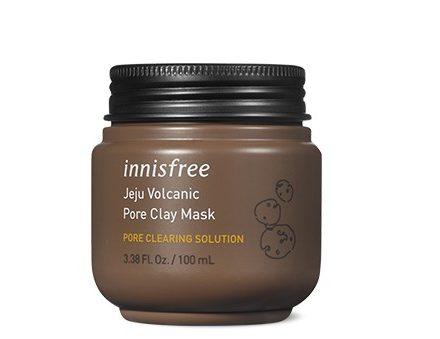 Mặt nạ đất sét Innisfree Jeju volcanic pore clay mask