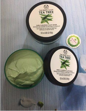 Mặt nạ đất sét The Body Shop TEA TREE SKIN CLEARING CLAY MASK