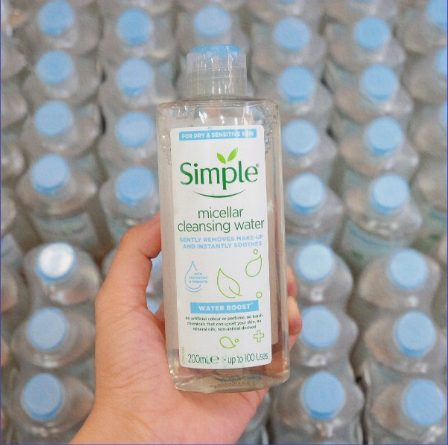Nước Tẩy Trang Simple Kind To Skin Cleansing Micellar Water