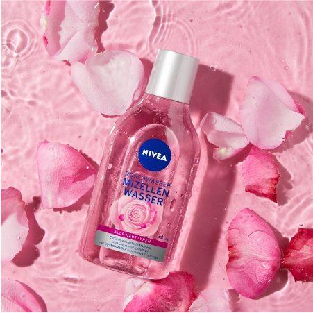 Nước tẩy trang hoa hồng Nivea Micellair Skin Breathe Micellar Rose Water