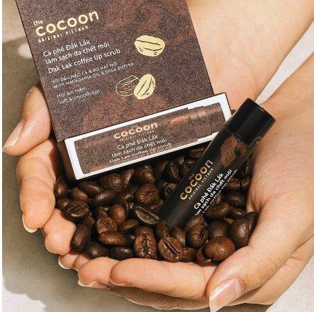 Tẩy tế bào chết cho môi The Cocoon