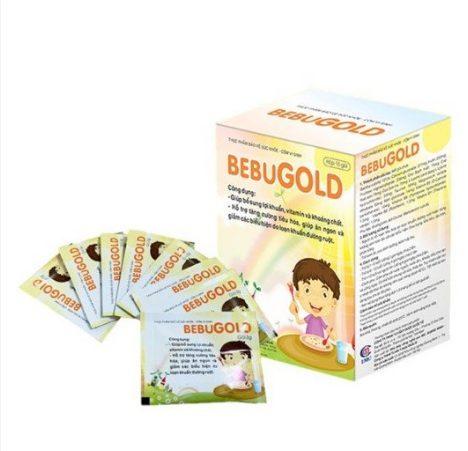 BebuGold giúp bé ăn ngon miệng, điều trị rối loạn tiêu hóa