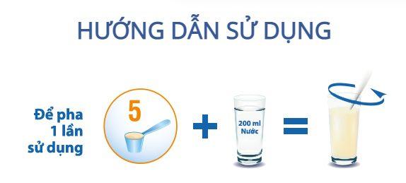 Công thức pha chế sữa tiểu đường Diasure