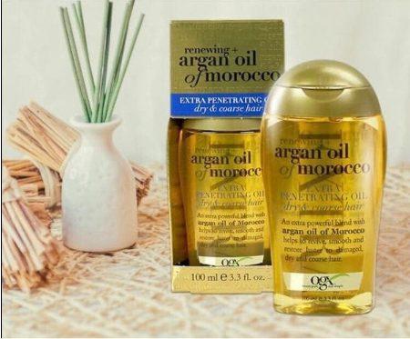 Dầu dưỡng tóc Ogx Renewing Argan Oil Of Morocco Penetrating Oil