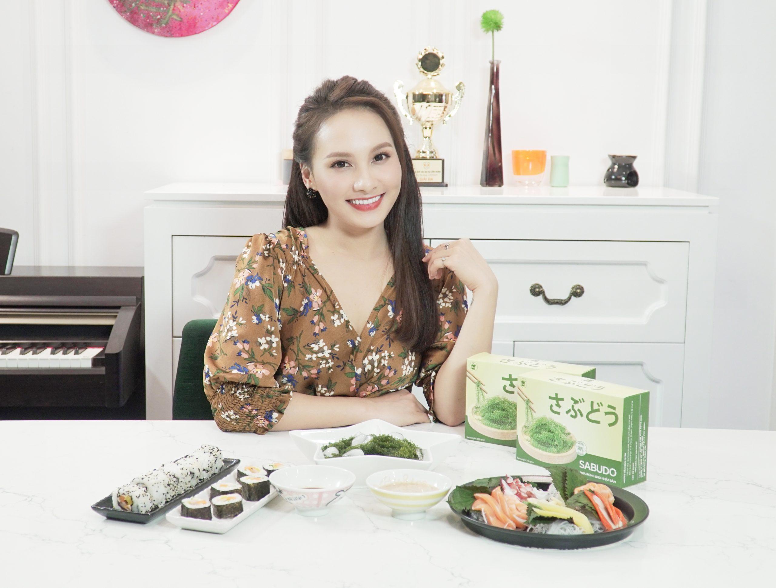 Diễn viên Bảo Thanh rất thích ăn rong nho Sabudo