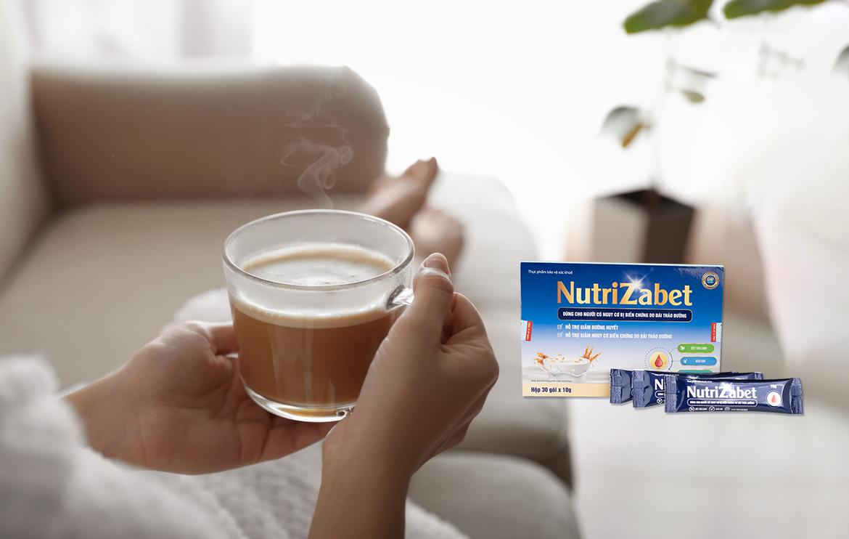 Hương vị sữa Nutrizabet thơm ngon bổ dưỡng vị thanh mát dễ uống