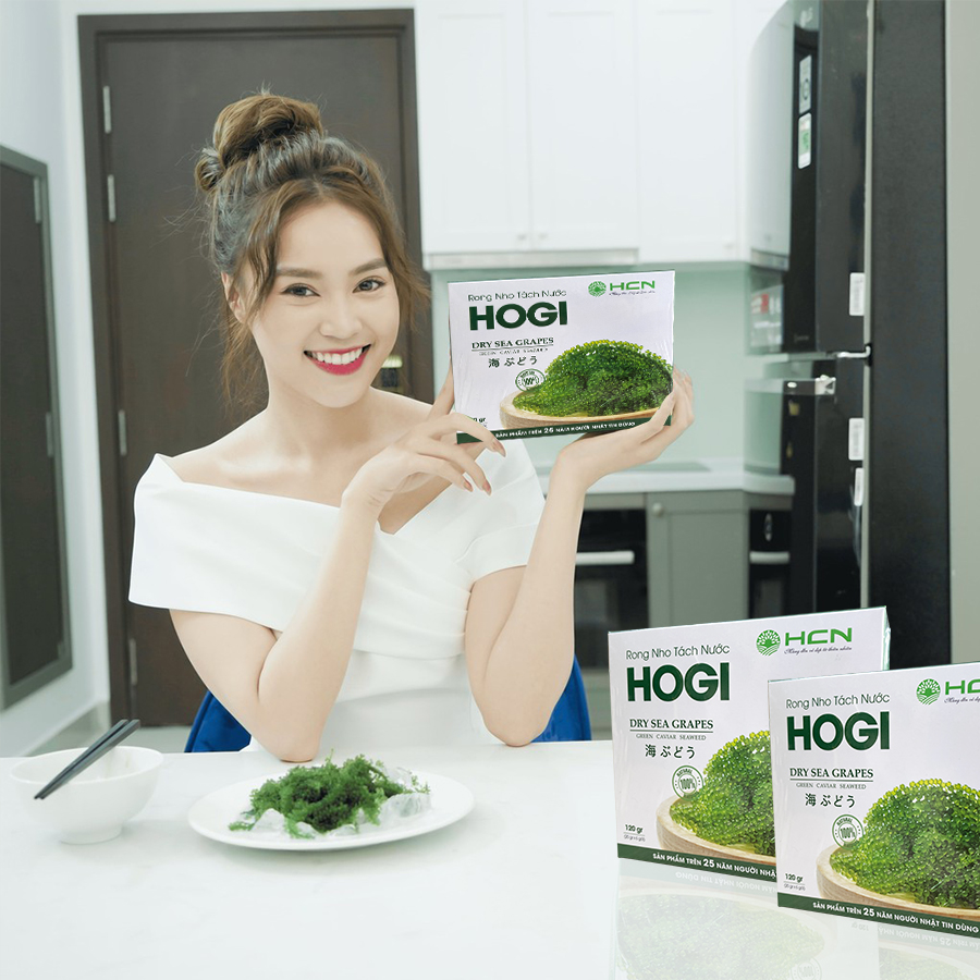 Rong nho Hogi là món ăn yêu thích của diễn viên Ninh Dương Lan Ngọc