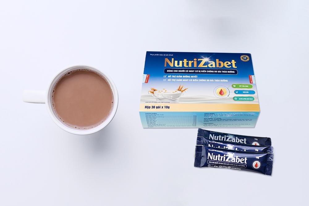 Sữa ngũ cốc tiểu đường Nutrizabet