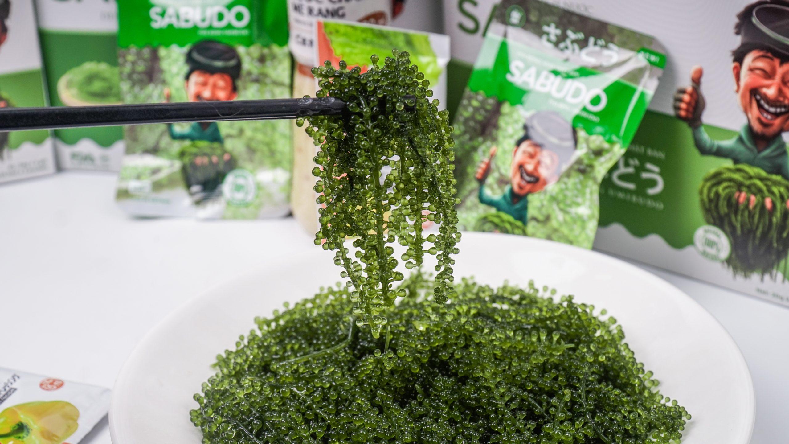 Thành phần dinh dưỡng có trong rong nho Sabudo rất tốt cho sức khỏe