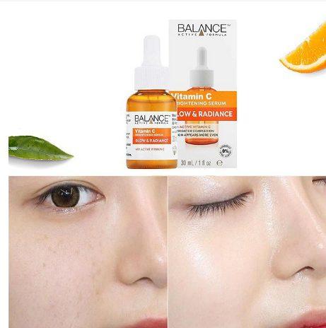 Hiệu quả sử dụng serum vitamin C Balance