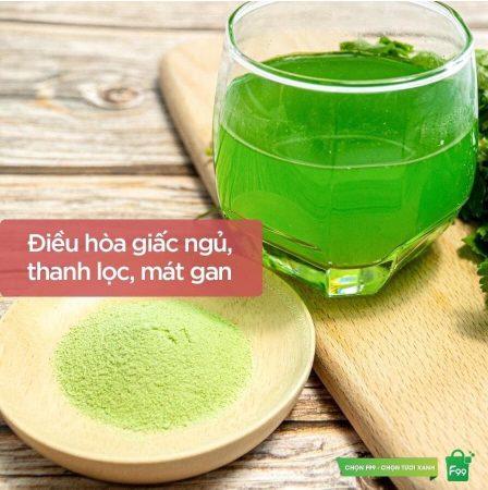 Mùi vị bột cần tây Sitokata thơm ngon, thanh mát, dễ uống