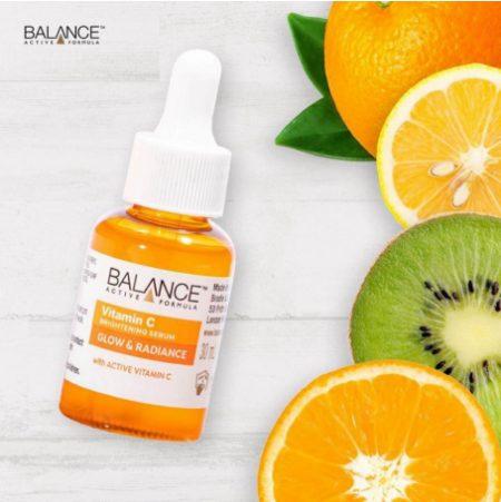 Serum Balance Vitamin C có thành phần chính là các dẫn xuất vitamin c