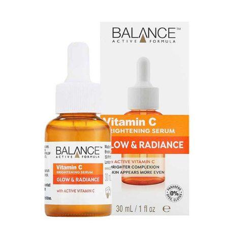 Thiết kế bao bì của Serum Balance Vitamin C